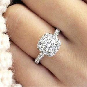 925 Silver CZ Elegant Ring